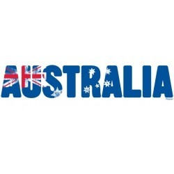 Large Australia Flag Sticker