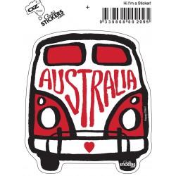 Kombi Sticker Australia