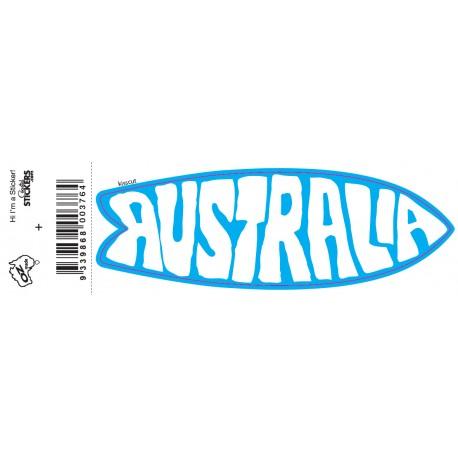 Retro Board Australia Sticker