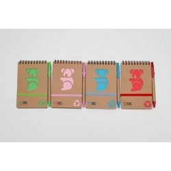 ToDo 70 Page Koala Notepad and Pen