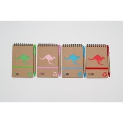 ToDo 70 Page Kangaroo Notepad and Pen