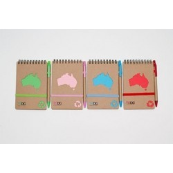 ToDo 70 Page Australia Notepad and Pen